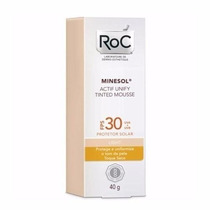 Roc Minesol Actif Unify Tinted Mousse Ligth Fps30 Roc 40g