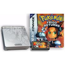 Gameboy Advance Sp Doble Brillo En Caja Y Manual + 1 Juego