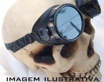 Óculos Estilo Soldador Mad Max Gótico Vintage Motociclista - R  39,90 em  Mercado Livre 9568219a5e