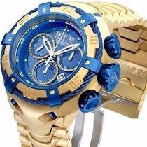 Relogio Thunderbolt Invicta Azul Garantia Original Caixa