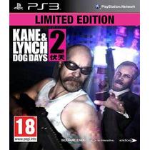 Jogo Ps3 Kane & Lynch 2 Dog Days Limited Edition Original