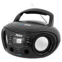 Som Portátil 6w - Philco, Bluetooth, Mp3, P2, Fm - Pb122bt