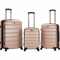 Maletas Kit Rockland Set De 3 Piezas Equipaje Viaje Viajar
