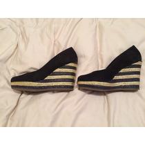 Zapatos Negros Taco Corrido Talle 36