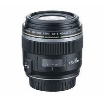 Lente Ef-s 60mm F/2.8 Macro Usm Garantia 1 Ano Canon