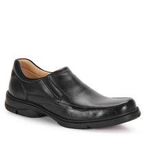 Sapato Casual Conforto Masculino Anatomic Gel 360 - Preto
