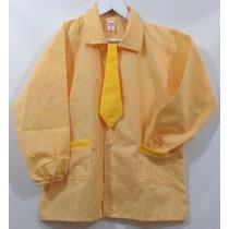[ Pintorcito De Jardin T.4 ] Amarillo Con Corbata Amarilla