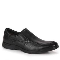 Sapato Casual Conforto Masculino Democrata- Preto