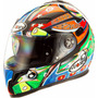 Tm Casco Para Moto Suomy Halo Streetbike Racing Motorcycle