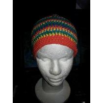 Gorros Tejido En Crochet Multicolorestvarios Somos Tienda