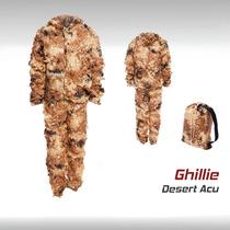 Uniforme Ghillie Militar Camuflaje Tactico Gotcha Airsoft