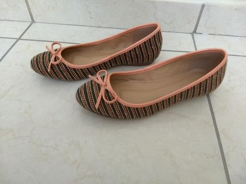 60106b75c Sapatilha Shoestock Bico Redondo Laço - Marrom Novo - R$ 15,00 em ...