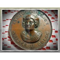 Medalla Cristobal Colon Conmemorativa 4 Centenario