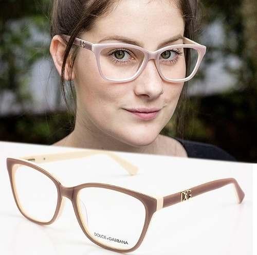 b4ecfdfd4f3cc Armação Oculos Grau Feminino Importado Dg52 Acetato Origina - R  120
