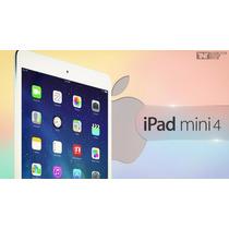 Ipad Mini 4 Wi/fi16gb + Estuche Cuero Blanco; Nuevo En Caja
