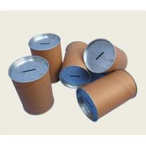 Alcancías De Cartón Con Tapa Metálica (diámetro 7,5)