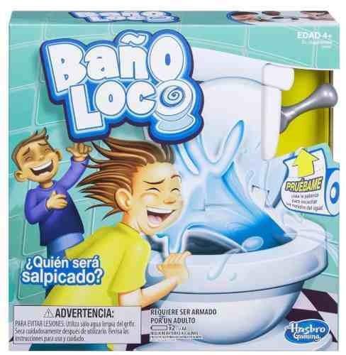 Bano Loco Juego De Mesa Hasbro 549 00 En Mercado Libre