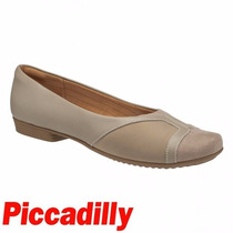 Sapatilha Piccadilly Joanete Conforto Bege 250135