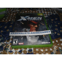 X-box X-men Legends