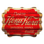 Placa De Parede Coca-cola Wood Style Konka Em Mdf - Urban