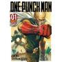 One Punch Man # 01 Mangá Novo Lacrado Panini Comics