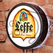 Luminoso / Luminária Parede Bar Com Led - Cerveja Leffe