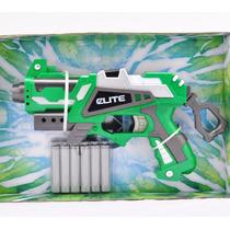 Pistola Nerf Hulk Brinquedo Arma Lança Atira Dardos + Frete