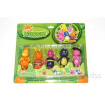 Backyardigans - Kit Com 5 Bonecos Brinquedo Promoção