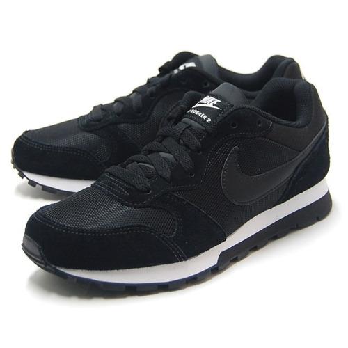d754318932820 Tenis Nike Md Runner 2 Feminino Preto/branco - Original - R$ 279,90 em  Mercado Livre