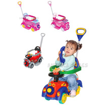 Andador Pata Pata 2 En 1 Biemme Mickey Kitty Cars Princesas