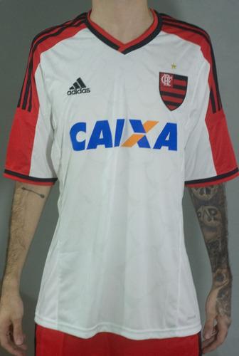 Camisa adidas Flamengo Branca 2014 15 Original Frete Grátis - R  135 ... 7240934a595e4