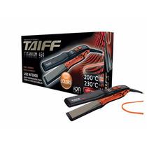 Chapa Profissional 200ºc / 230ºc Íons - Titanium 450 - Taiff