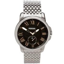 Relógio Fossil Masculino Todo Aço Com Design Slim Fs4944/1pn