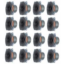 Kit 16 Alto Falante Mini Paredão Mini Line Array Coluna Voz