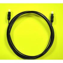 Cable Optico Toslink 1.8 Metros Para Audio Digital