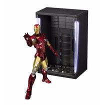 S.h.figuarts Iron Man Mark 6 Y Salón De Armadura / Preventa