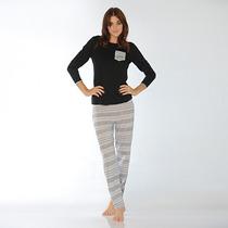 Pijama Talles Especiales Clásico Luz De Mar Dreams 81043 N0