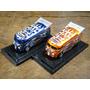 Drag Bus Builder Cobalt Blue & Eletric Orange 1:64 Liberty
