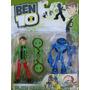 Muñeco Ben10 Con Patineta Y Alien Figura Juguete Ben 10 Niño