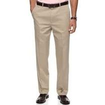 Pantalones Haggar Sin Pinzas Tallas Extras 44x29 Classic Fit