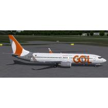 Boeing 737-800 Pmdg Ou Sms Gol Nova Pintura(fsx/fs2004)