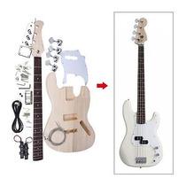 Estilo De Jazz Bass 4 Cuerdas Eléctricas Macizo Tilo