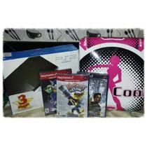 Playstation 2 Libre + Juegos Originales+alfombra De Baile De