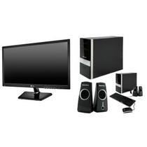 Computadora Soniview Pc-1005 - Incluye Monitor Lg Led 20