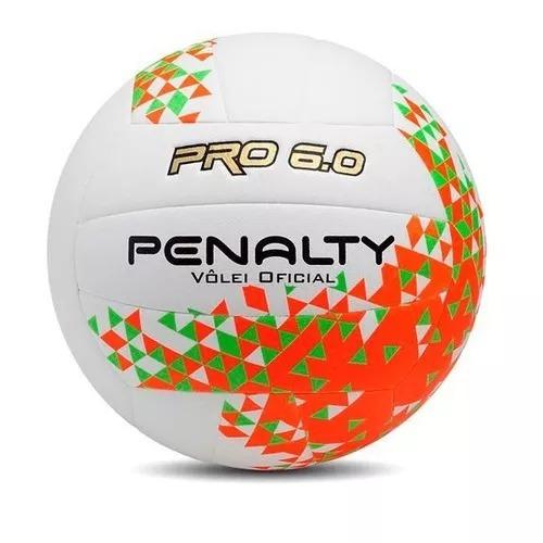 04 Bolas De Vôlei 6.0 Penalty + Brinde - R  799 036bd9cd0798d