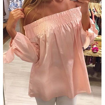 Blusa Campesinas Limonni Dama Elegantes De Mujer Moda Li407