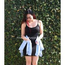 Vestido Básico De Alça Alcinha Com Bojo Malha Viscolycra
