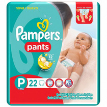 Fralda Pampers Pants P Descartável Kit Com 176 Unidades