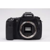 Câmera Canon Eos 60d Dslr 18mp (corpo) Usada