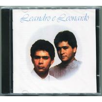 Cd Leandro E Leonardo 1989 - Novo (cd Lacrado)